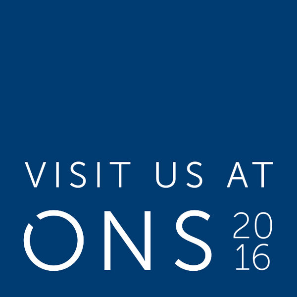Come visit us at ONS 2016!