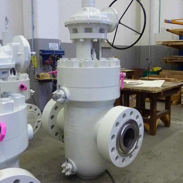 Through Conduit Double Expanding Slab Gate Valve
